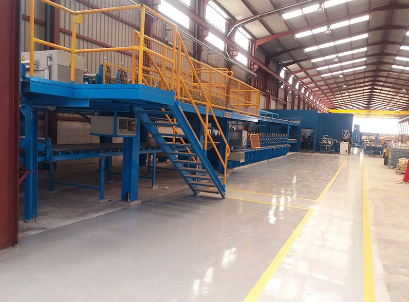 Pavimentos industriales decorativos y deportivos en barcelona for Pavimentos industriales